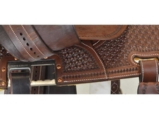 "New! 13. 5"" Crown C Barrel Saddle by Martin Saddlery"
