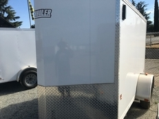 EZ Hauler 5x8 All-Aluminum Enclosed Trailer