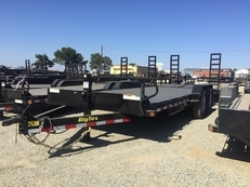 Big Tex 20' Equipment Trailer w/ Diamond Plate Decking
