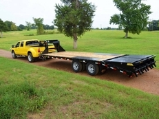 -Big Tex 22GN 33' Gooseneck w/ MEGA RAMPS-