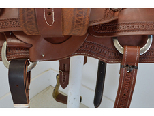 "New! 15. 5"" Cactus Saddlery Ranch Cutting Saddle"