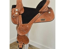 "New! 15. 5"" Tammy Fischer Treeless Barrel Saddle by Circle Y Sadd..."