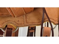 "New! 12. 5"" Comal All Around Circle Y Saddlery Saddle(Estimated A..."