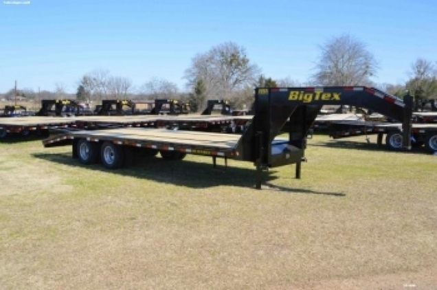 Big Tex 28' + 5 10Ton Gooseneck Trailer