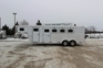 2002 Exiss Trailers 4HR GN Horse Trailer