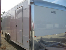 Mission EZ Hauler All Aluminum 8. 5x20 Enclosed Car Trailer