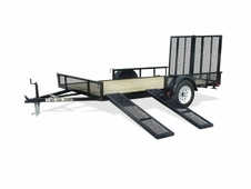 Carry-On 7x12 Utility Trailer w/ Ramp Sides