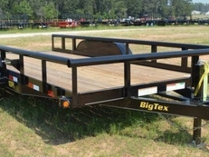 -16ft Pro Series Pipe Utility Trailer-