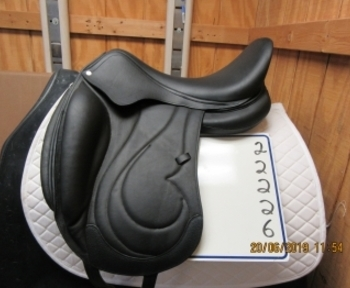"Antares Cadence Used Dressage Saddle 18.5"" M"