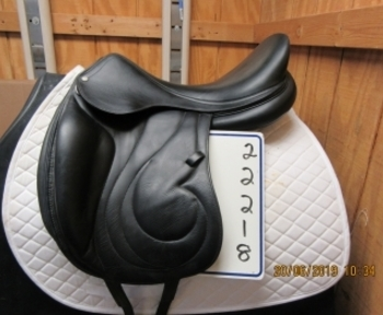 "Antares Alliance Used Dressage Saddle 19"" M"