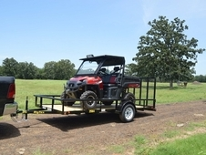 35SA-14 Single Axle ATV Trailer