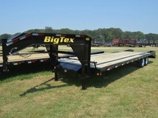 BIG TEX 14GN SINGLE WHEEL TANDEM GOOSENECK 14GN-25BK+5MR