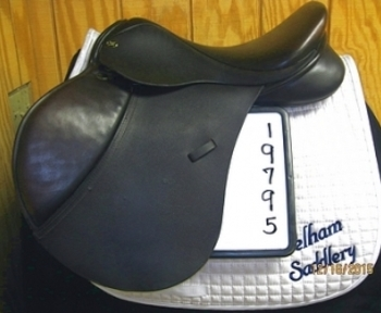 Borne Custom Event Used Close Contact Saddle 17