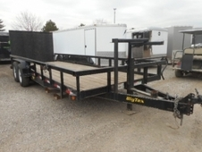 2012 BIG TEX 14PI-22 EQUIPMENT TRAILER