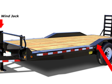 20ft Pro Series Drive-Over Fender Hauler ~