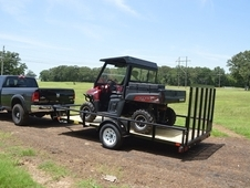 35SA-12 Single Axle ATV Trailer