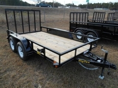 BIG TEX 50LA TANDEM AXLE ANGLE IRON UTILITY 14'