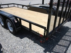 BIG TEX 50LA TANDEM AXLE ANGLE IRON UTILITY 12'