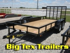 Tandem Axle Utility Trailers by BIG TEX 50LA-12BK4RG