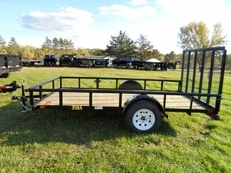 "BIG TEX 35SA 77"" X 10' SINGLE AXLE UTILITY"