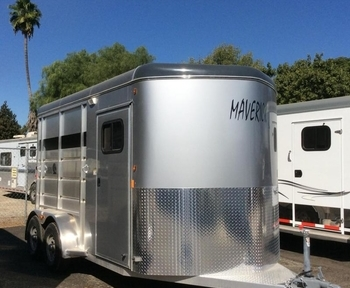 2019 Maverick Lite Warmblood 2 Horse Trailer
