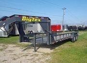 Big Tex 14GP 24' Heavy Duty Pipe Top Gooseneck Lowboy