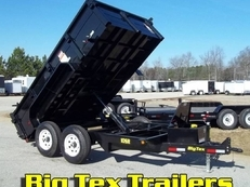 7x12 Big Tex 10SR Dump , #5200 axles
