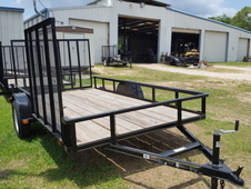 Carry-On 6x12 Utility Trailer w/ Side Gate