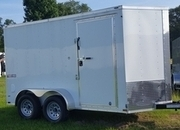 Texan Cargo 6'x12' Single Axle Cargo Trailer