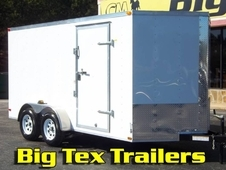 7-Wide Cargo Trailers from Lark, 7x12 to 7x20