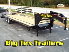 Big Tex Gooseneck Trailer w/ Tandem 7K Axles,