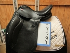 "Kieffer Paris Exclusive Used Dressage Saddle 16.5"" M"