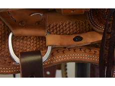 "New! 10"" Classic Kid Youth Ranch Saddle"