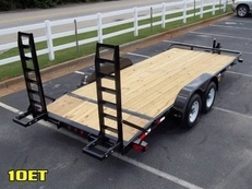2016 BIG TEX 10ET PRO SERIES EQUIPMENT TRAILER 16' W/ KNEE RAMPS