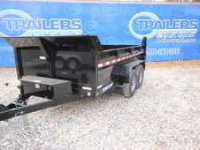 2017 Sure-Trac 7 x 12 2-6000 lb Axles LProfile Scissor Dump