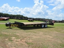 Tandem 7K Axle Big Tex Pintle Hook Deck Over