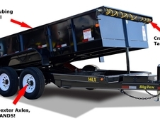 Big Tex 14 LX #1 Best Selling Dump Trailer 14LXBK7SIRPD