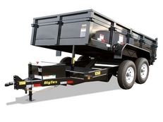 Big Tex 10SR 12' Pro Series Tandem Axle Single Ram Dump