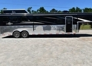 New 2019 Bison Ranger 8313GBSO 3 Horse Trailer with 13' Short Wall