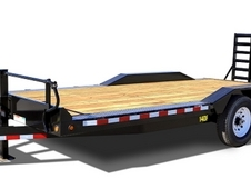 Big Tex 14DF Heavy Duty Drive Over Fender Equipment Hauler 20'