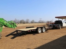 Big Tex 14ET 20' Heavy Duty Tandem Axle Equipment