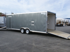 24' V-Nose Enclosed Car Hauler