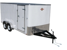7x16 CARRY ON CARGO ENCLOSED TRAILER