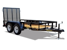 Big Tex 45LA Tandem Axle 12' Angle Iron Utility