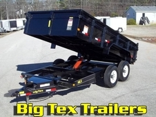 Big Tex 14LX-14, Most Popular Selling Dump Trailer, 7x14 with 7K Axles