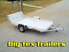 All Aluminum Utility Trailers with Torsion Axles
