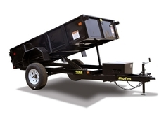 Big Tex Single Ram 5000# Dump Trailer