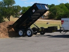 Big Tex 70SR Tandem Axle Single Ram Dump 70SR-10-5WDD