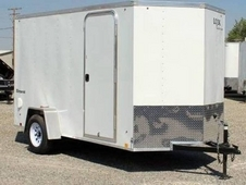 Look 6x10 Enclosed Cargo Trailer