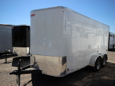 2017 Pace American JOURNEY 7 x 14 Double Door JV714TE2